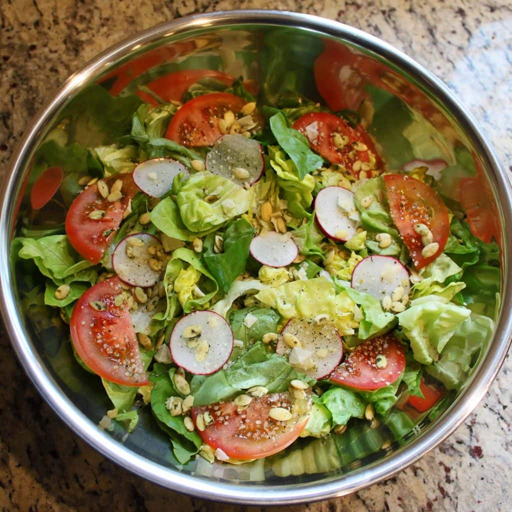 Energizing Protein Power Salad Recipe — Dishmaps