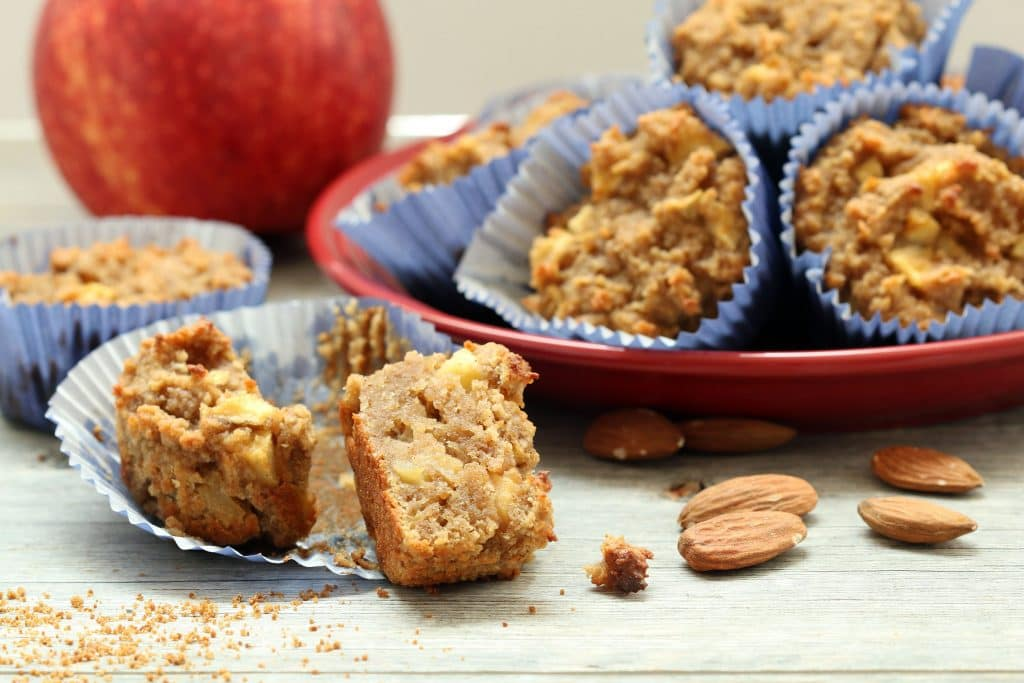 Recipe: Apple Cake Muffins (Gluten-Free, Vegan, Refined Sugar-Free)