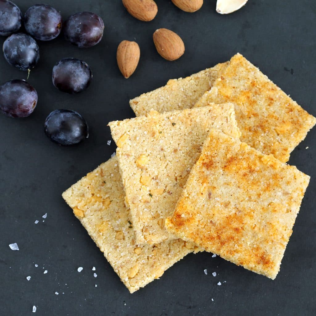Vegan Cheese Crisps