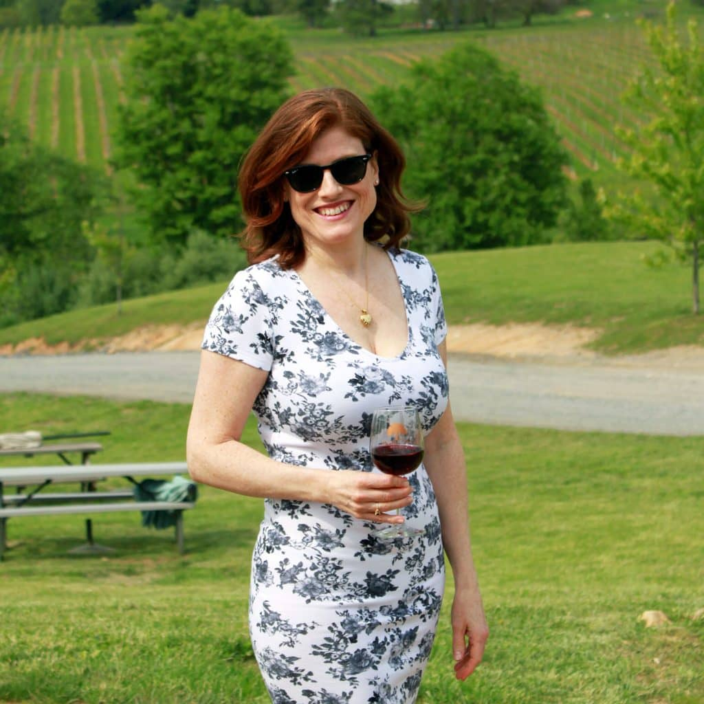 Barrel Oak Winery - Jana in Field