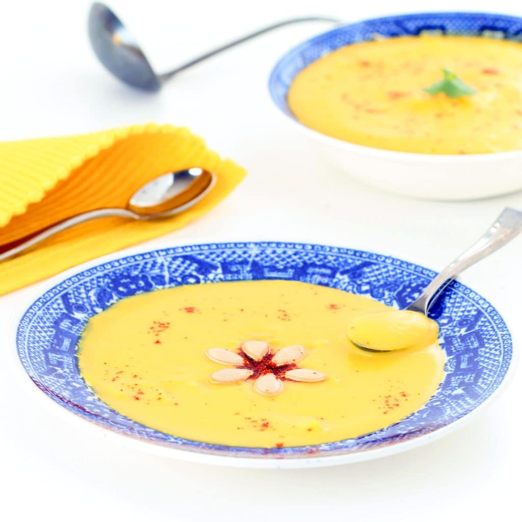 Sweet and Spicy Butternut Bisque
