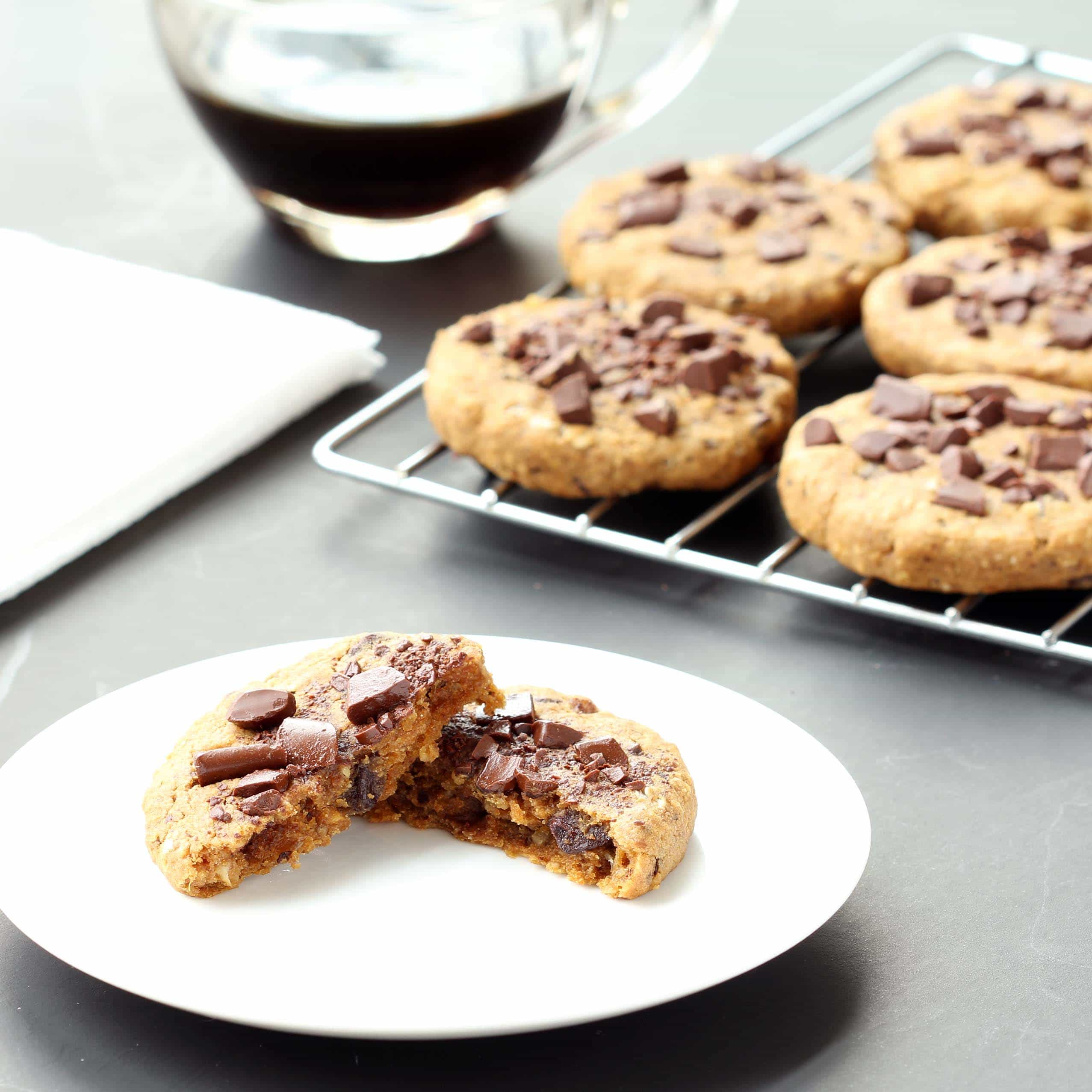 Ultimate Chocolate Chip Cookies (Gluten-free, Plant-based / Vegan ...