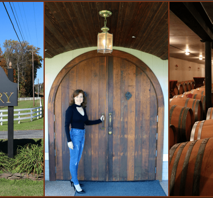 Gray Ghost Vineyards and Winery Collage