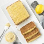 Lemon Bread with Lemon Cream Frosting