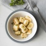 Baked Cheesy Cauliflower Gnocchi