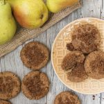 Cinnamon Pear Cookies Plated
