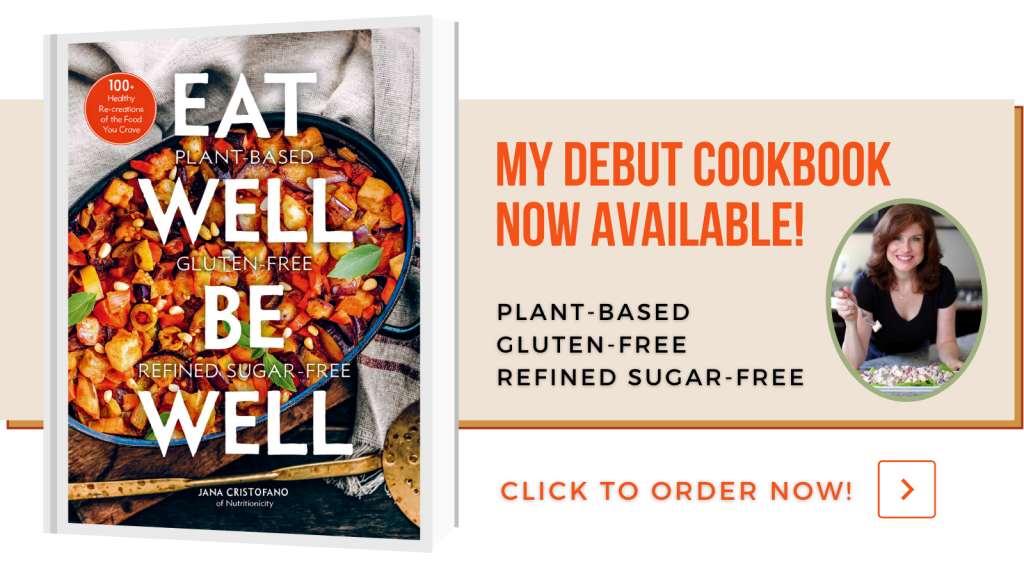 Eat Well Be Well Cookbook Promotion